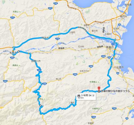 道の駅ひなの里かつうら から 県道16号線   Google マップ